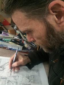 Vanon, le dessinateur derrière chaque détail de la série Quinn Novak